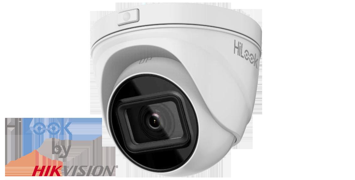 "IP Dome outdoor Camera, 1/3"" CMOS, 2MP, PoE, 2.8-12mm, IP67, Metal/Plastic"