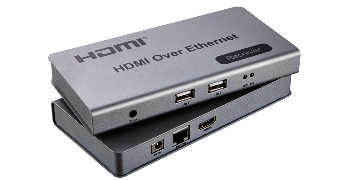 HDMI KVM Over IP Extender with USB 120M
