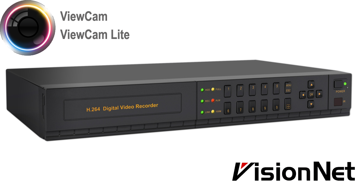 0de923ff8dbf4 DVR 8 channel 960H VisionNet