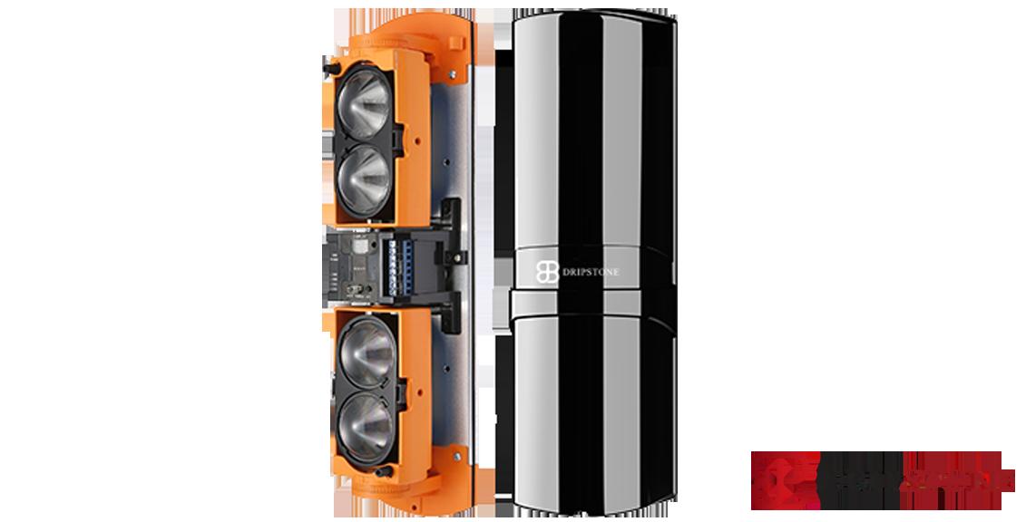גלאי אקטיבי 4 קרניים 100 מ' תדר משתנה