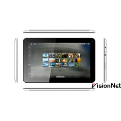 Tablet 10 Inch, Android 4.4 , 16GB, Camera 5mp, White